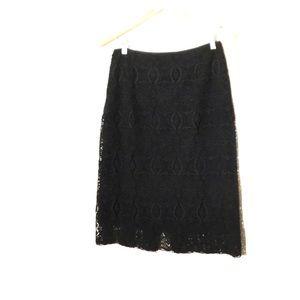 Elie Tahari black pencil skirt 6